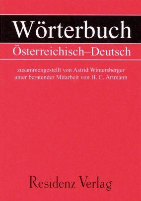 """Coverabbildung von """"Wörterbuch Österreichisch-Deutsch"""""""