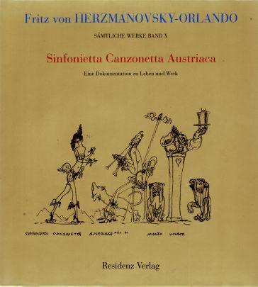 """Coverabbildung von """"Sinfonietta Canzonetta Austriaca"""""""