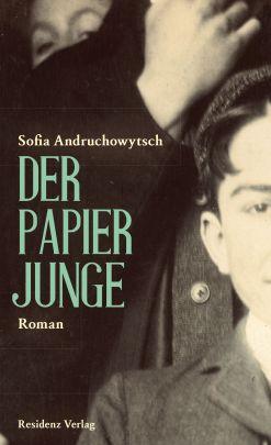 """Coverabbildung von """"Der Papierjunge"""""""