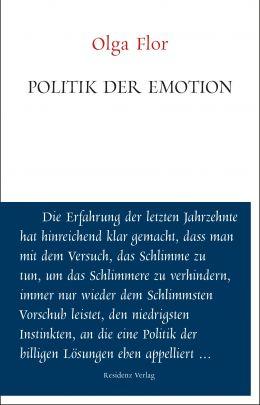 """Coverabbildung von """"Politik der Emotion"""""""