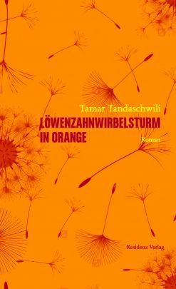 """Coverabbildung von """"Löwenzahnwirbelsturm in Orange"""""""