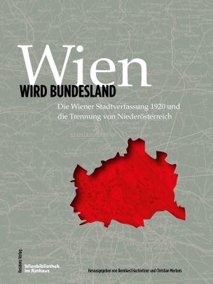 """Coverabbildung von """"Wien wird Bundesland"""""""